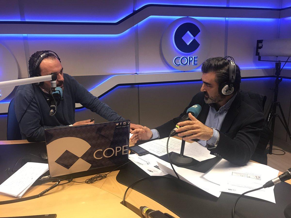 Enrique Solana en La Linterna (COPE)
